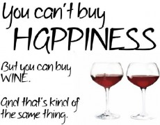 Why do most people buy wine?