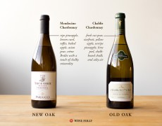 A Tale of Two (Very Different) Chardonnays