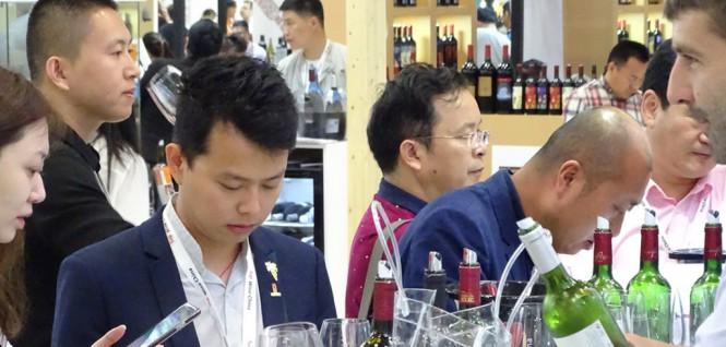Triển lãm rượu vang quốc tế ở Bắc Kinh