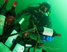 """""""Hầm rượu"""" khổng lồ dưới đáy biển ở thị trấn Saint-Malo"""